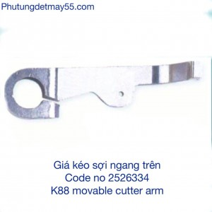 2526334 K88 MOVABLE CUTTER ARM
