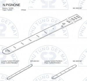 Dây kiếm N.PIGNONE TP500