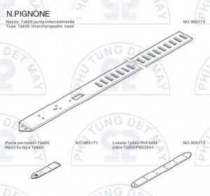 Dây kiếm N.PIGNONE TP600