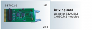 Driving card STAUBLI CX860,M2 module