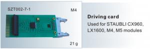 Driving card STAUBLI CX960,LX1600,M4,M5 module