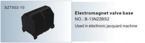 Electromagnet valve base Jaquard