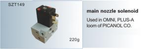 Main nozzle solenoid PICANOL