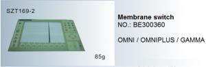 Phím điều chỉnh Membrane switch BE300360 OMNI , OMNIPLUS, GAMMA