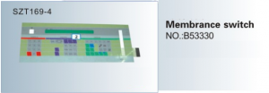 Phím Membrane switch NO.B53330  SZT169-4