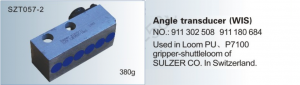 Angle transducer WIS NO. 911 302 508  911 180 684 Used in loom PU, P7100 gripper-shuttle loom of SULZER SZT057-2