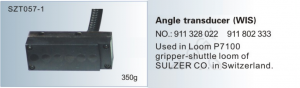 Angle transducer WIS NO. 911 328 022  911 802 333 Used in loom PU, P7100 gripper-shuttle loom of SULZER SZT057-1