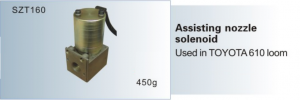 Assisting nozzle solenoid TOYOTA 610 loom SZT160