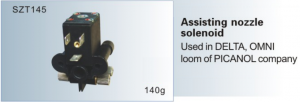 Assisting nozzle solenoid Used in DELTA, OMNI loom of PICANOL SZT145