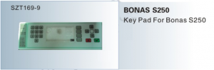 Phím BONAS S250 Key Pad for Bonas S250  SZT169-9