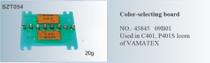 Color-selecting board NO. 45845  09B01 Used in C401, P401S loom of VAMATEX SZT054