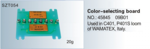 Color-selecting board NO. 45845  09B01 Used in C401, P401S loom of VAMATEX, SZT054