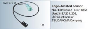 Edge-twisted sensor NO. EB16003D , EB21108A Used in ZA203, 205, 209 TSUDAKOMA  SZT073-2