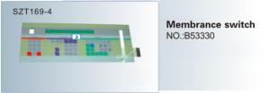 Phím bấm , phím nhấn Membrane switch NO.B53330  SZT169-4