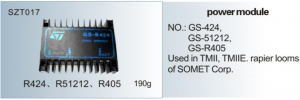 Module Used in TMII, TMIIE , SOMET GS-424 , GS-51212, GS-R405  SZT017