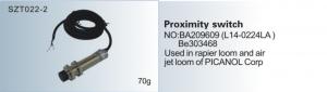 Bộ cảm biến Proximity switch BA209609 (L14-0224LA) BE303468  PICANOL  SZT022-2