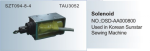 Solenoid NO. DSD-AA000800 Used in Korean Sunstar  SZT 094-8-4  TAU3052