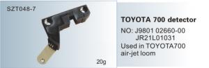 TOYOTA 700 detector NO. J9801 02660-00  JR21L01031  SZT048-7