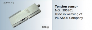 Tension sensor NO. 305801 Used in weaving of PICANOL  SZT101