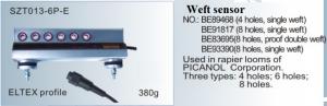 Báo đứt sợi ngang Weft sensor NO. BE89468 4holes BE91817 8holes BE83695 8holes BE93390 8holes Used in rapier looms of PICANOL SZT013-6P-E