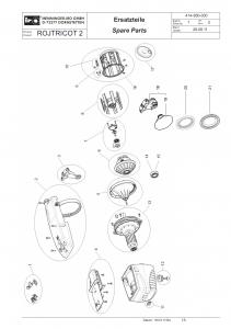 ROJ Tricot 2 Spare Parts